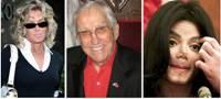 Farah Fawcett, Ed McMahon & Michael Jackson