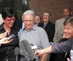 Gay couple celebrates Boston ruling