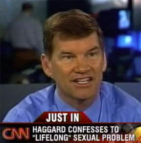 Ted Haggard opens a new church