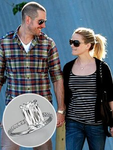 Jim Toth and Reese Witherspoon engaged to be married.