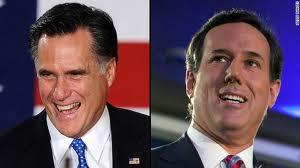 Mitt Romney & Rick Santorum